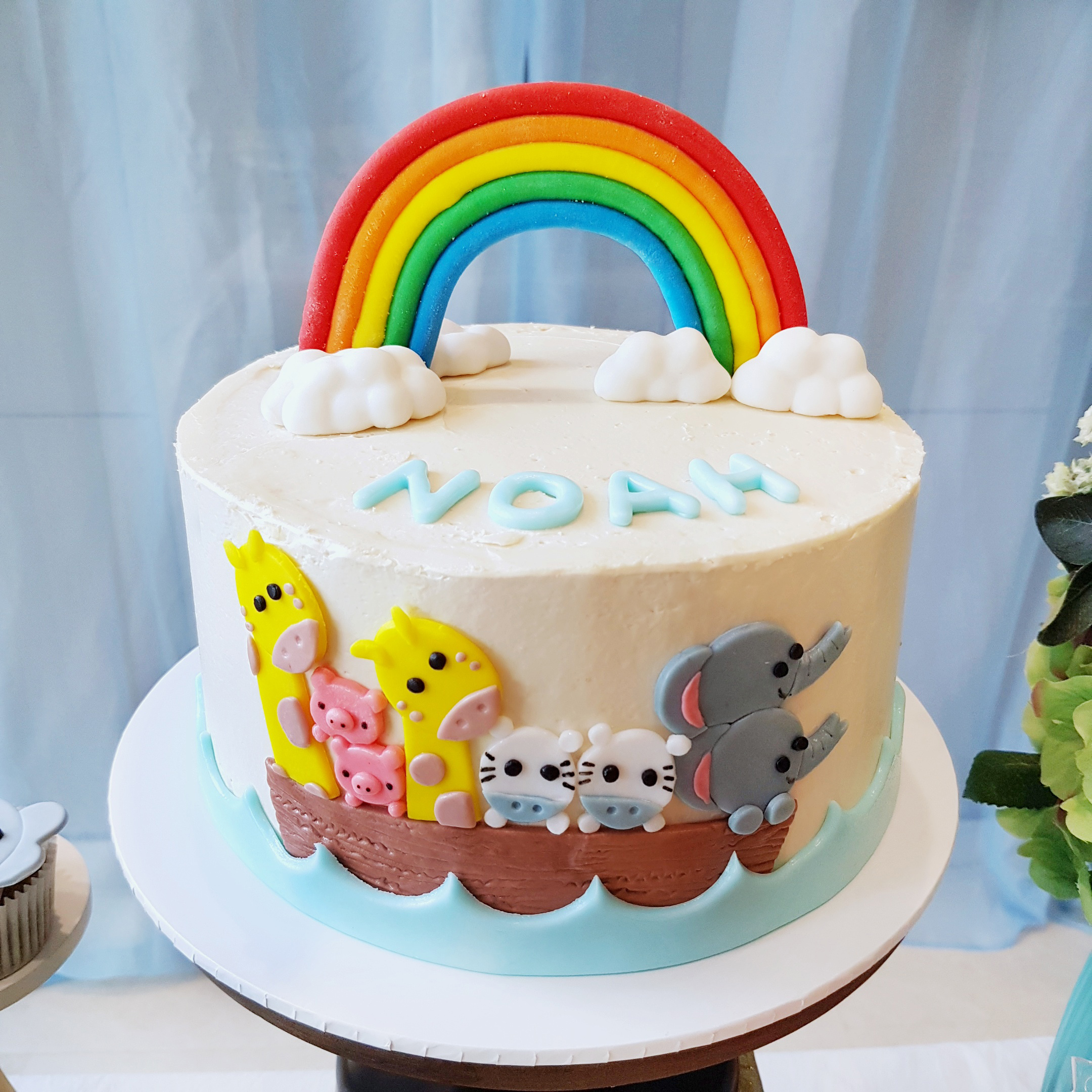Noah's Ark Cake by The Baking Experiment