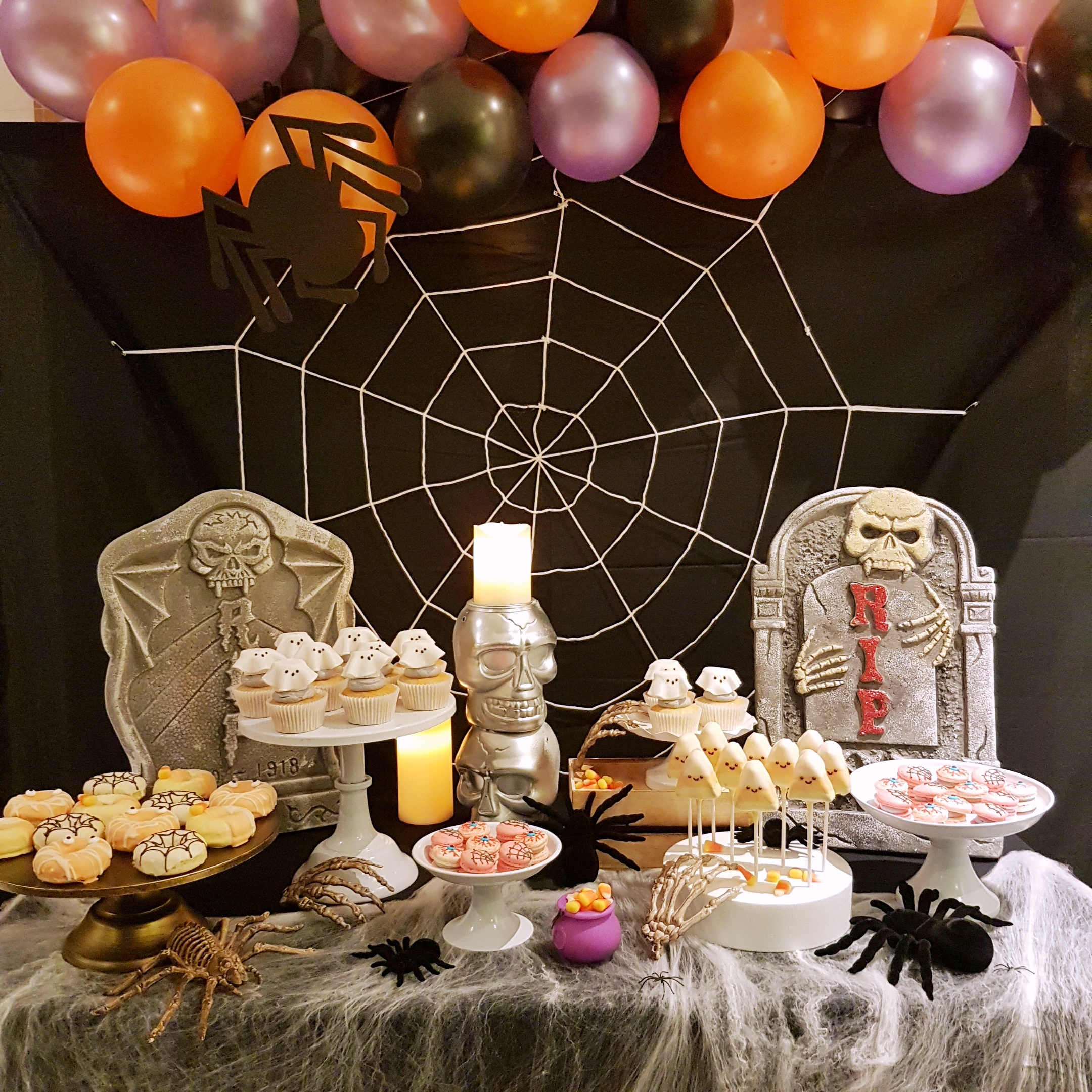 Halloween Dessert Table by The Baking Experiment
