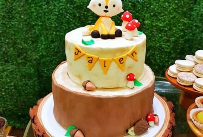 Woodlands Animal Cake