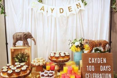 Safari Dessert Table by The Baking Experiment