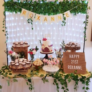 Enchanted Forest Dessert Table by The Baking Experiment