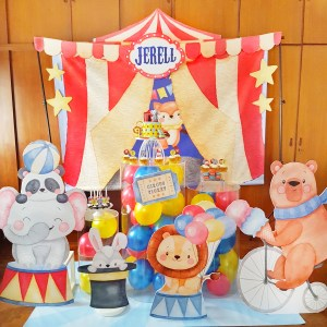 Circus Carnival Dessert Table by The Baking Experiment