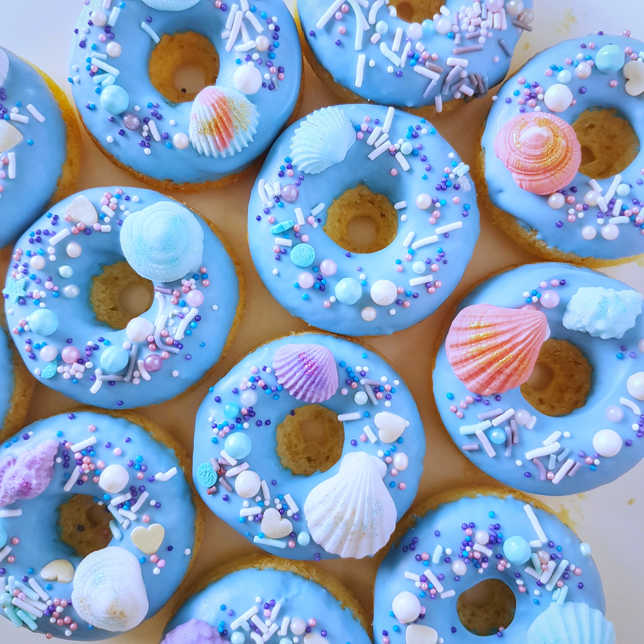 Under The Sea donuts by The Baking Experiment
