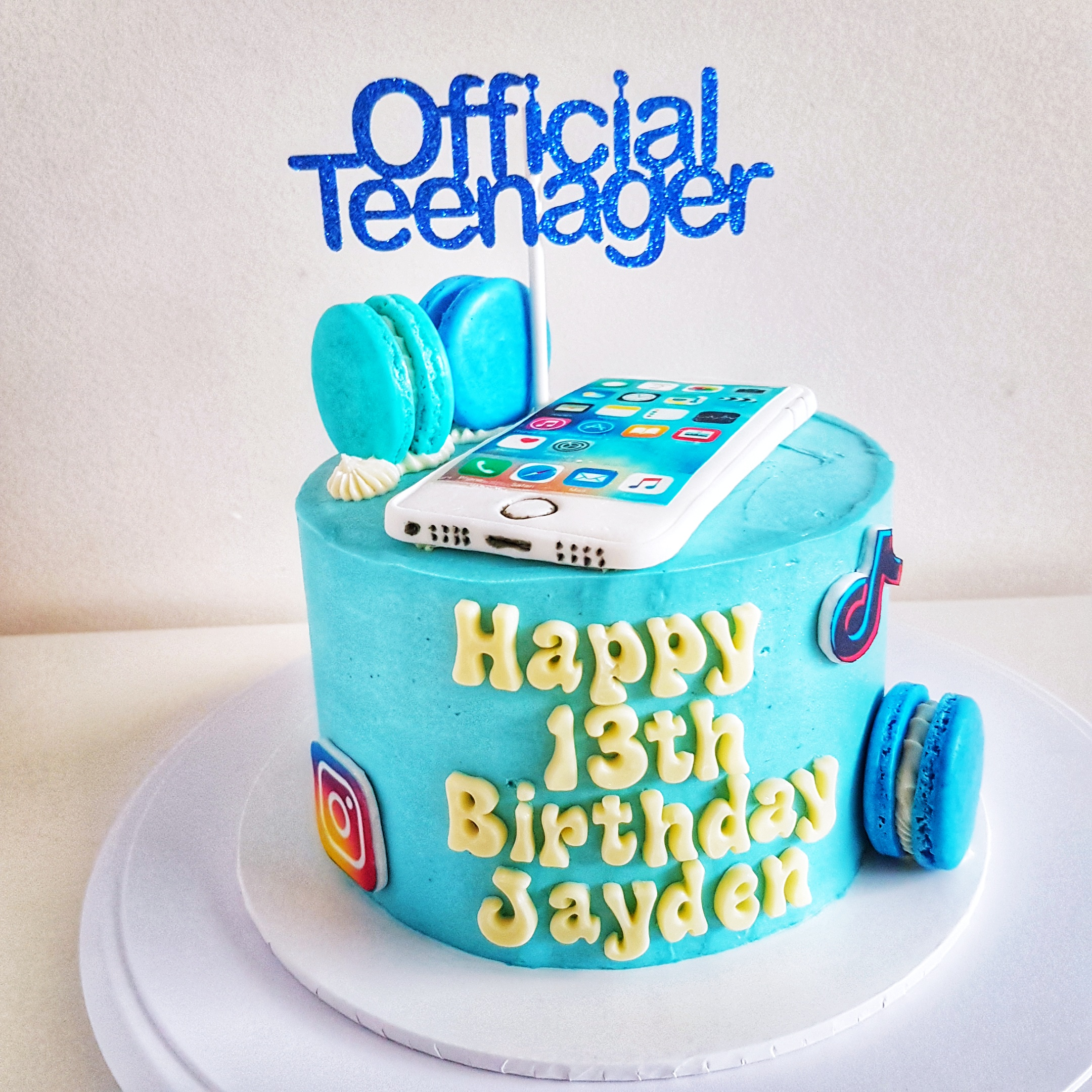Teenager Cake by The Baking Experiment