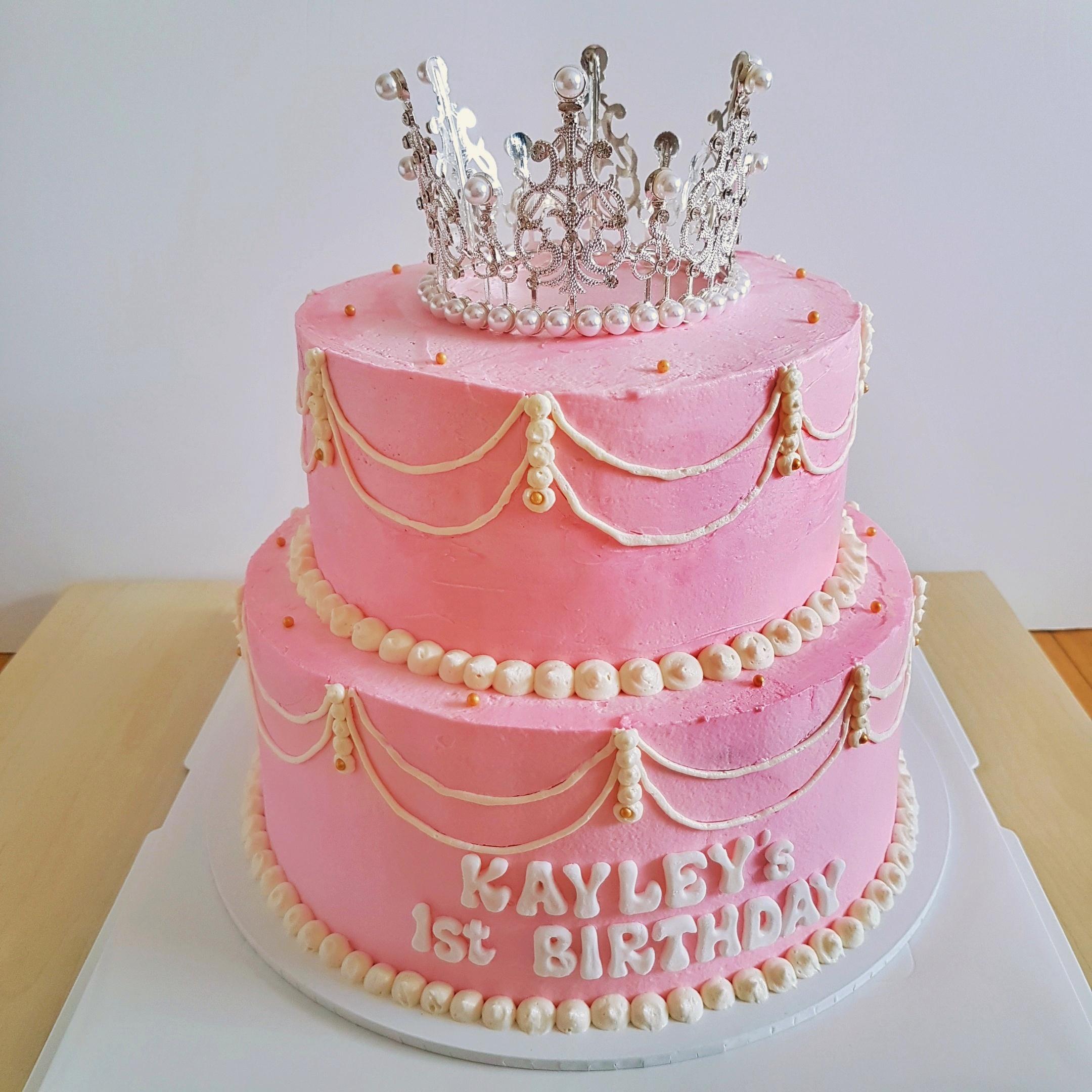Princess Cake with Tiara