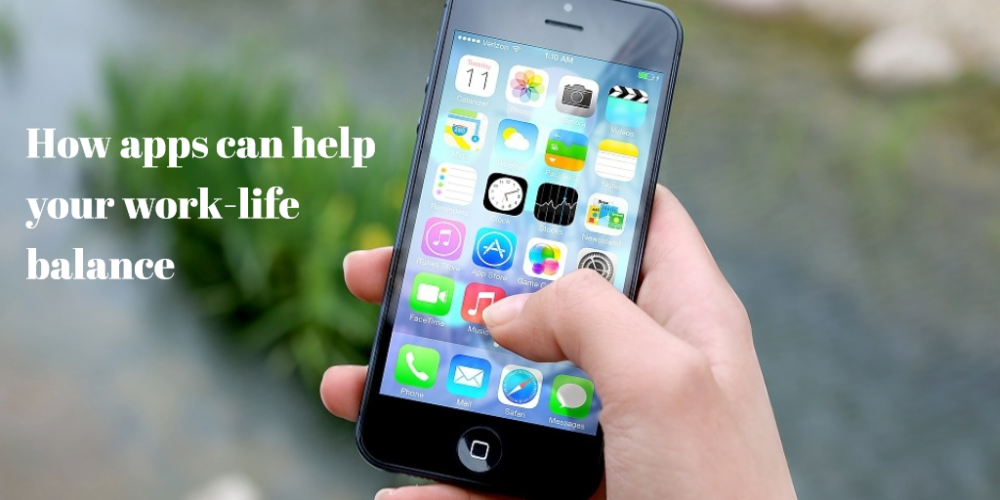 How apps can help your work-life balance