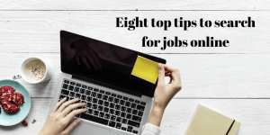 tips seach for jobs online