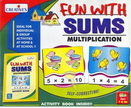 FUN with SUMS MULTIPLICATION – Kids Maths Game
