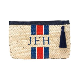 http://www.raefeather.com/british-collection-monogram-denim-clutch