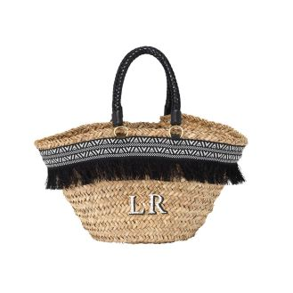 http://www.raefeather.com/aztec-trim-leather-handle-basket-black