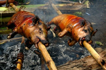 Is it safe to eat pork in bali