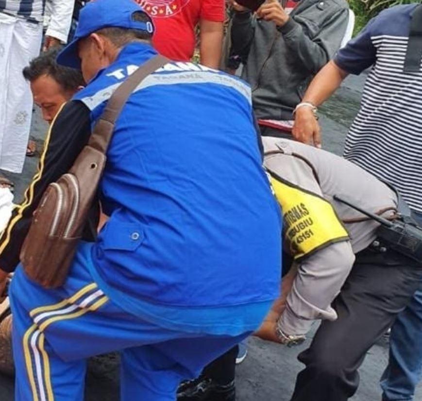 Police tried to save tourist