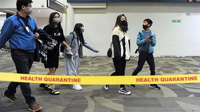 japanese visiting bali airport