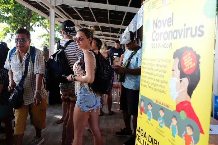 british tourist stranded in bali