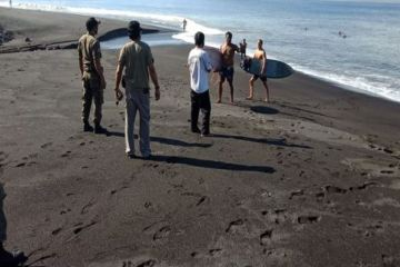 Foreign Tourists Ignore Officials And Continue To Surf