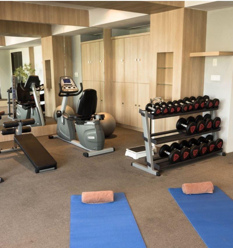 Bali Hotel Gym sanitation