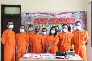 Bali Police Arrest 42 Suspects In Sweeping Operation