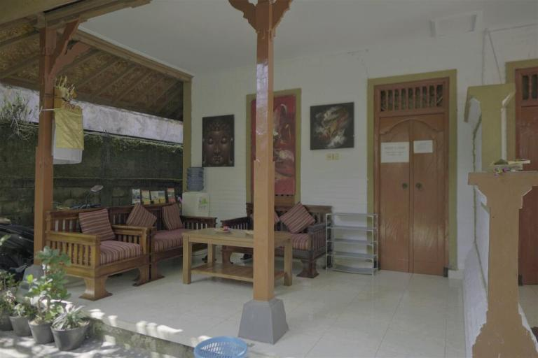 Jero di Bisma hostel in Ubud under $10 a night