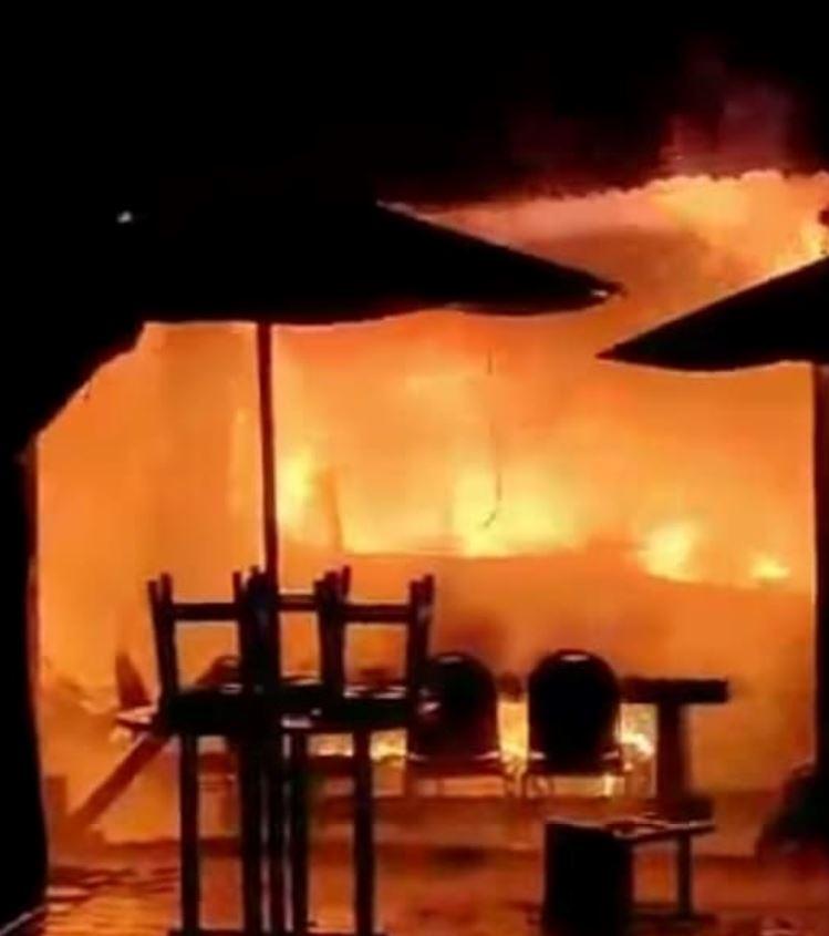 fire in kuta