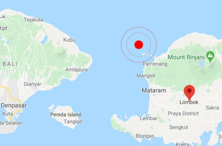 lombok and bali earthquake
