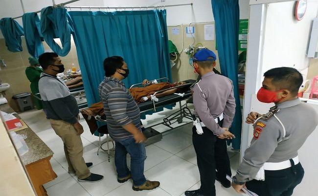 victim in hospital