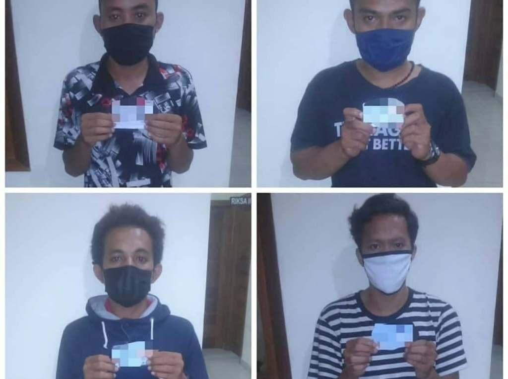 4 men arrested for killing dog