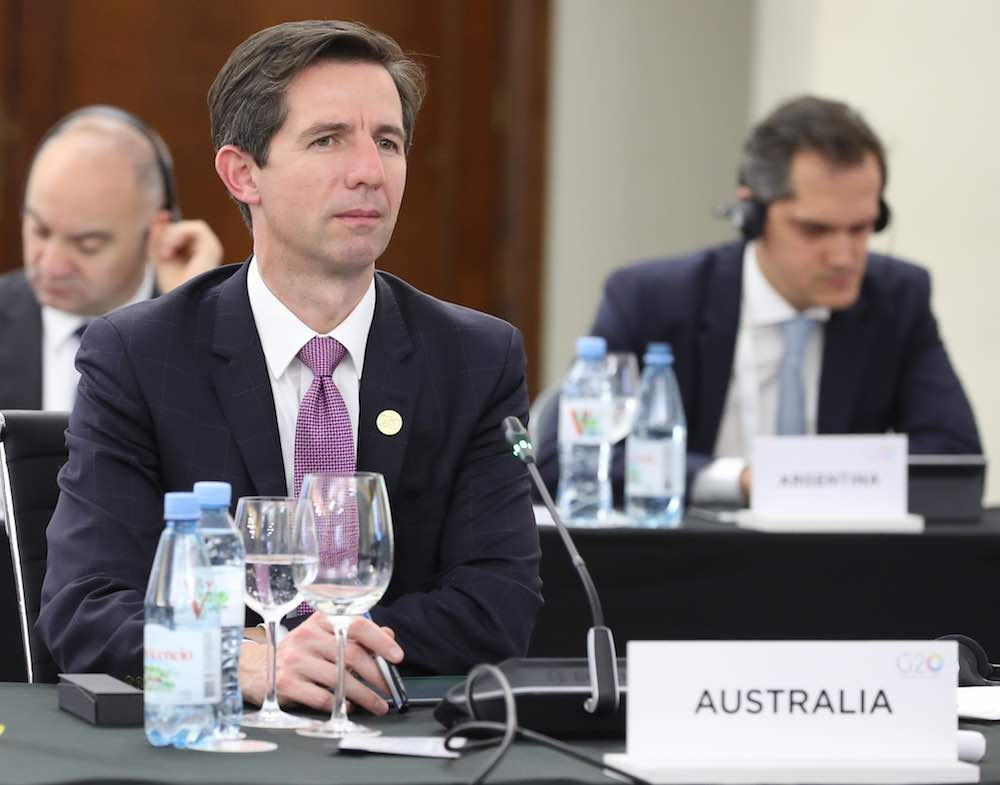 Australian Tourism Minister, Simon Birmingham