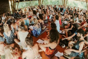 Foreign Group In Bali Ignore Health Protocols By Holding Large Spiritual Event