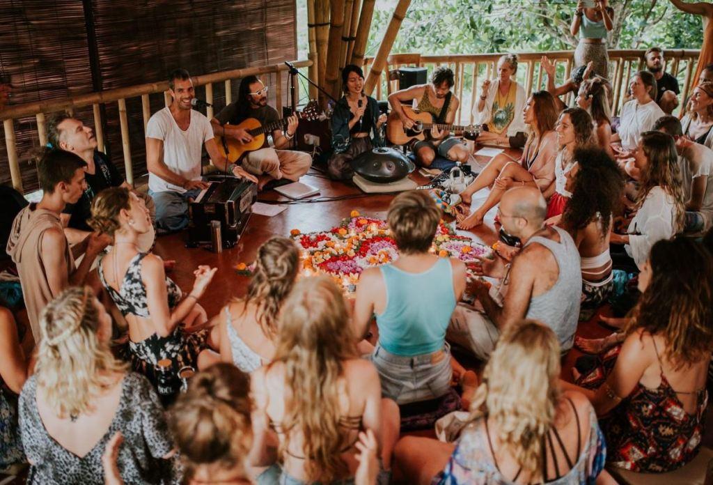 SPIRITUAL gathering in bali