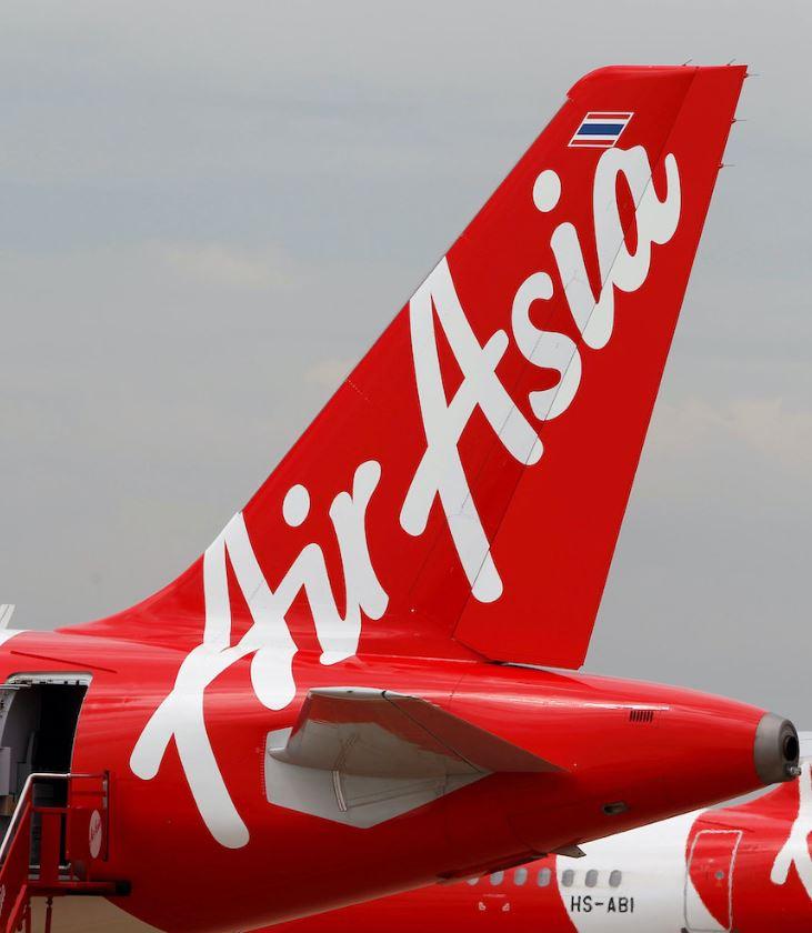 air asia plane tail