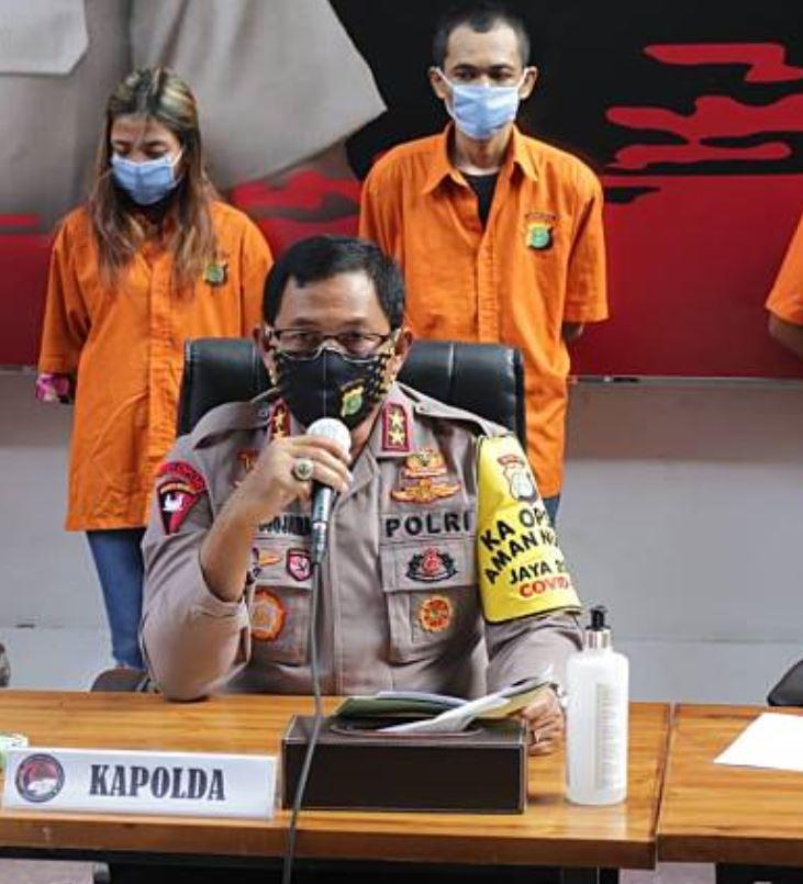 bali house vape raid press conference