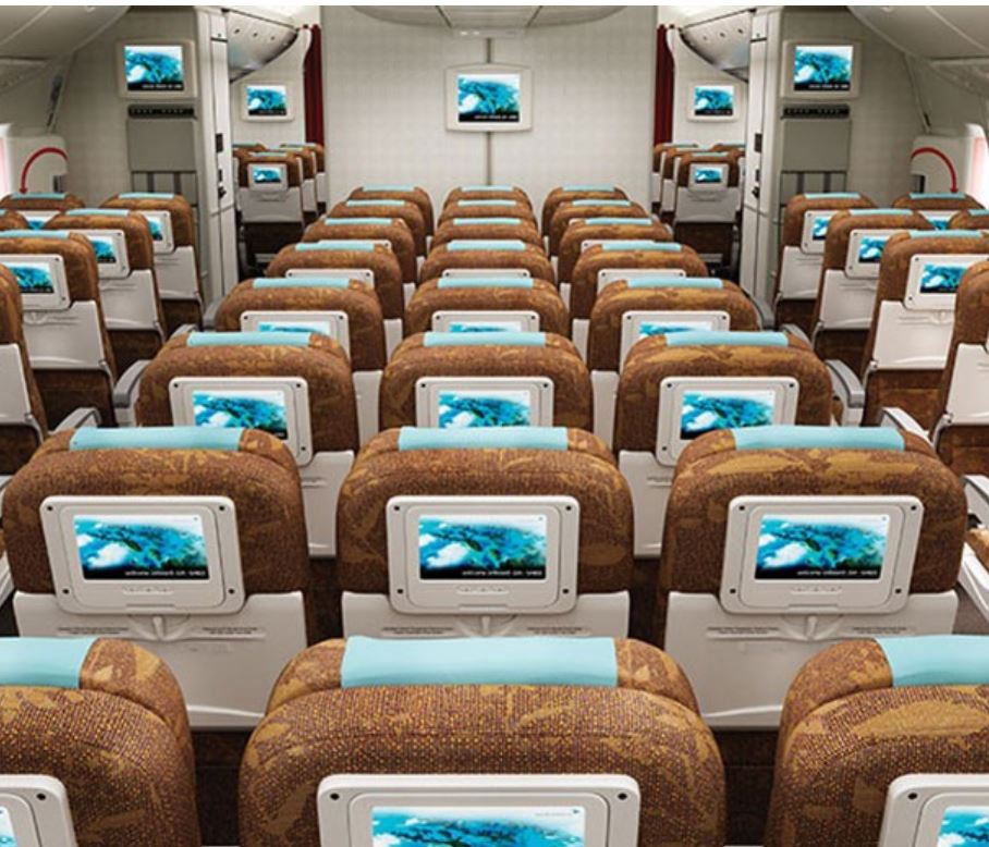 garuda airlines interior