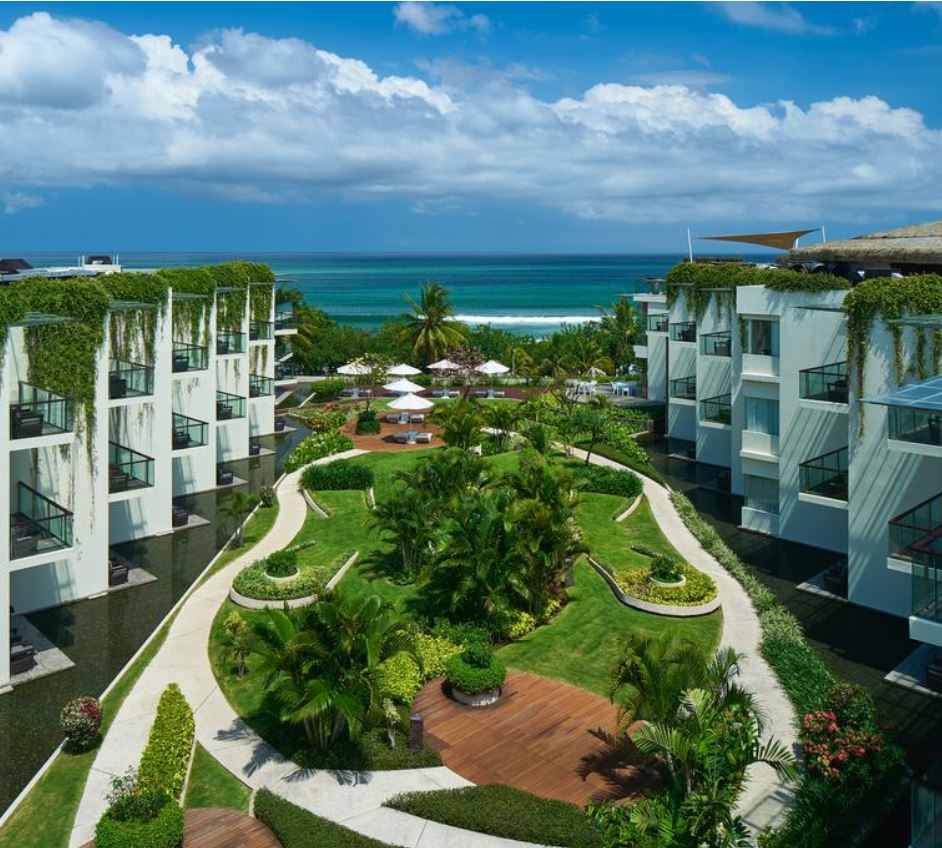 sheraton bali kuta hote rooms looking over ocean