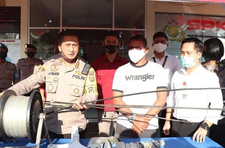 Police Arrest Kite Flyer For Causing 5 Hour Bali Blackout