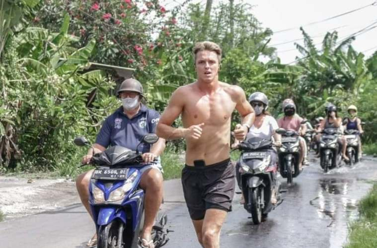Generous Tourist Helps the People of Bali By Running Ultra Marathon
