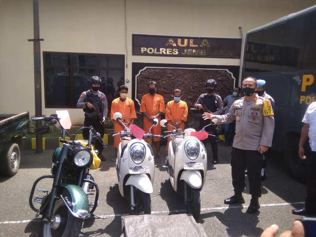 stolen motorbike in bali