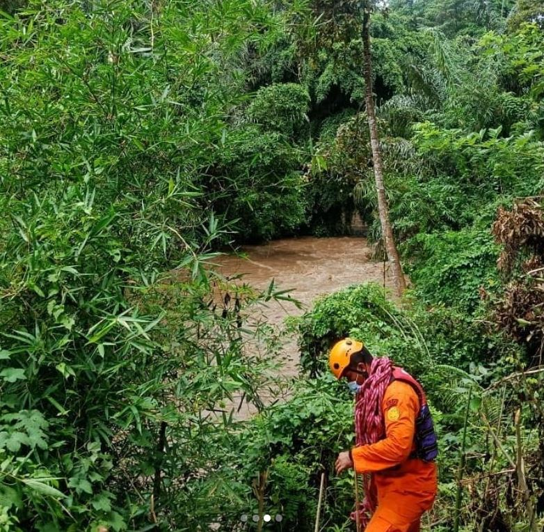 man missing after heavy rains
