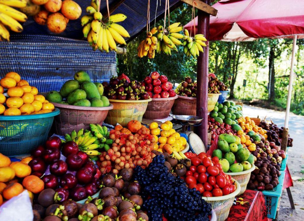 bali produce market