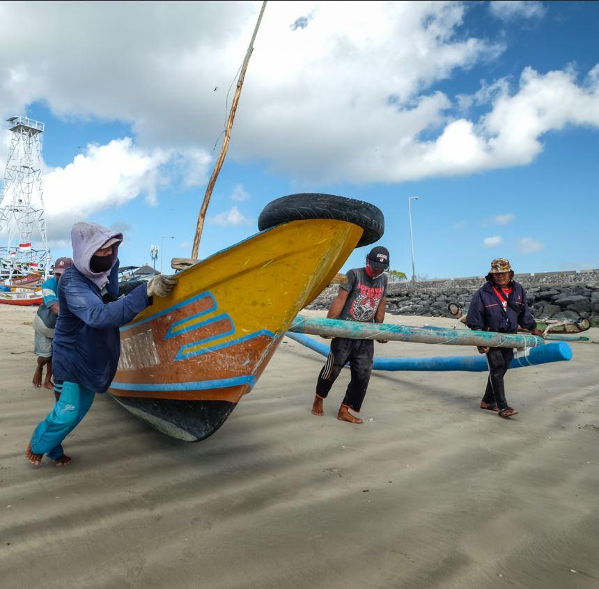bali fisherman masks