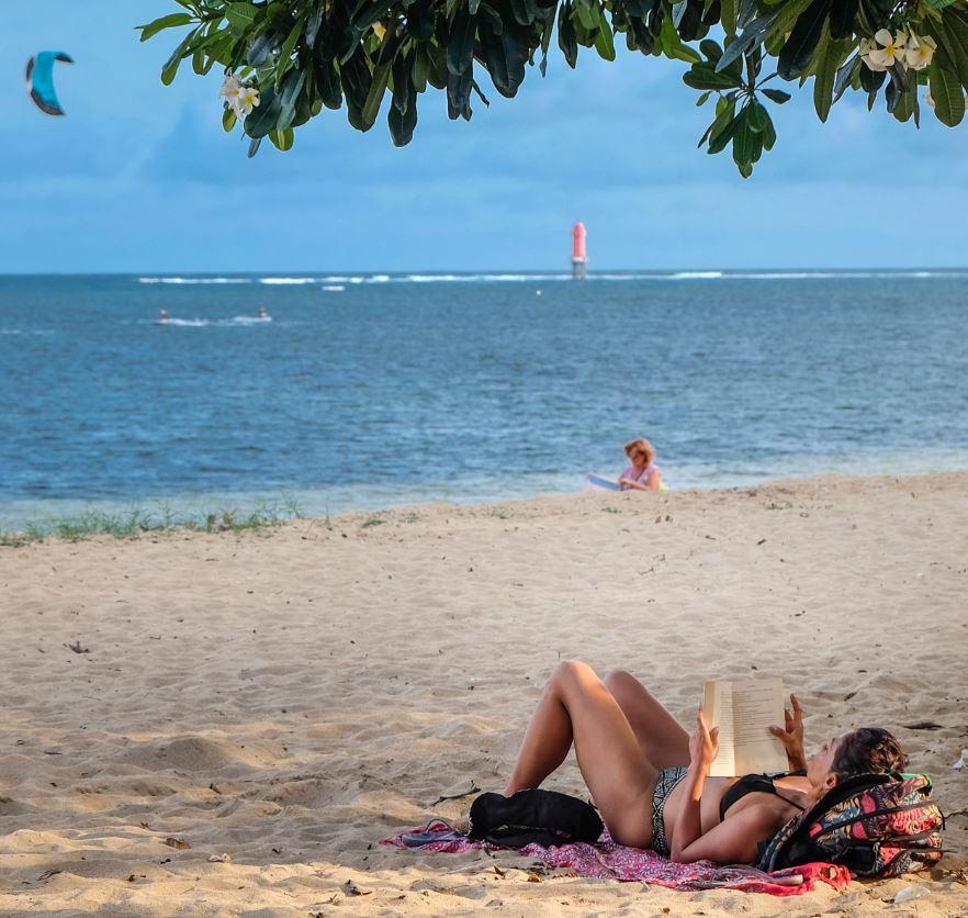 bali tourist beach