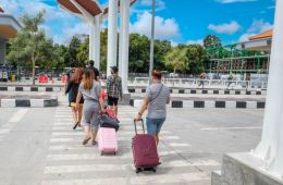 Checking Points At Bali Airport Inspected For Readiness To Resume International Flights