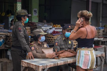 Bali Police Find Foreigners Violating Protocols During Lockdown