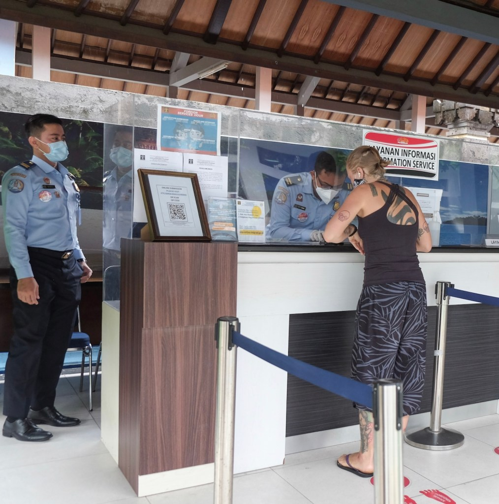 Bali immigration office