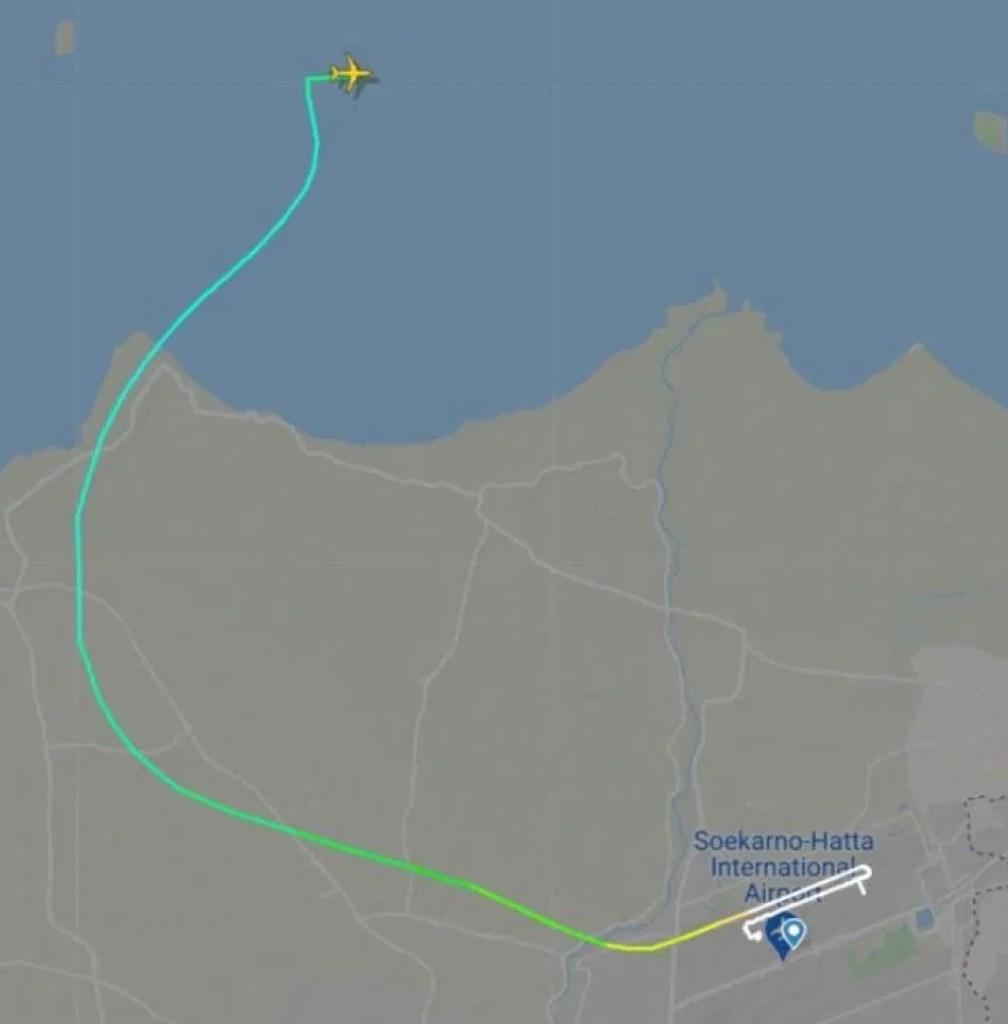 plane route