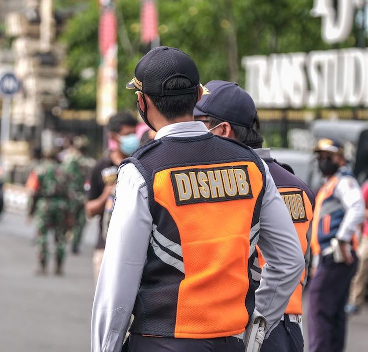 police in Bali