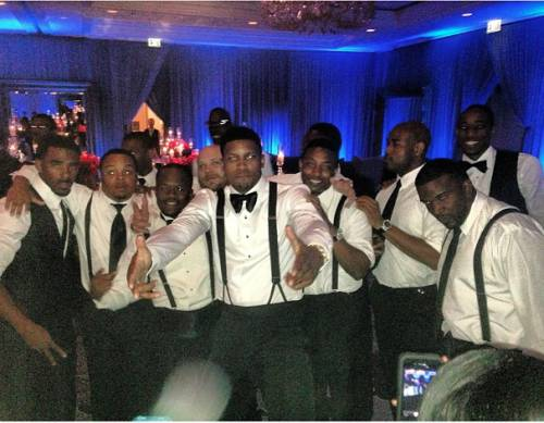 Rudy-Gay-ecko-wray-wedding-Party