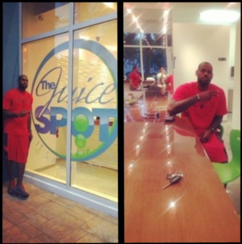 5cf1b5232569 LeBron James  Wife Savannah James Is Opening Up A Health Juice Store ...