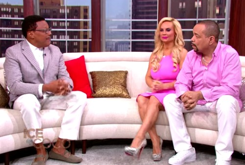 Judge Mathis Gives Marriage Tips To Ice T  Coco Video -5065