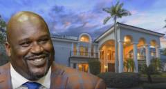 Inside Look: Shaquille O'Neal Selling His 35,000 Square Foot Orlando Mansion (Video)