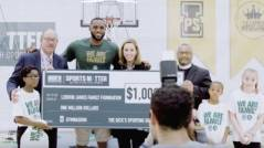 "Watch: LeBron James Surprises Students At His ""I PROMISE School"" With $1 Million Dollar Grant For New Gym (Video)"